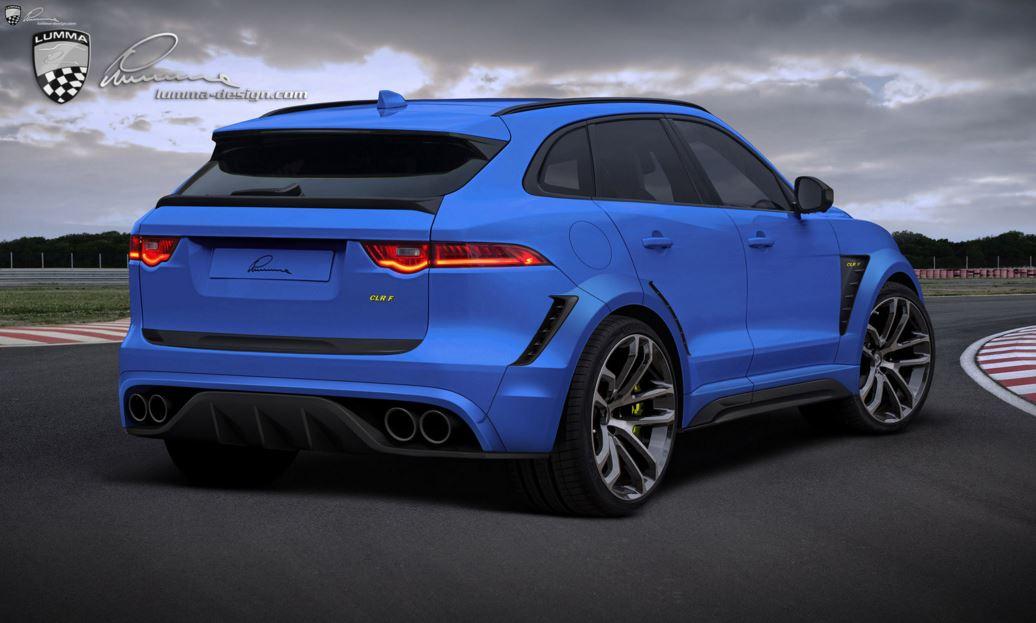 Jaguar F-Pace por LUMMA Design (2)