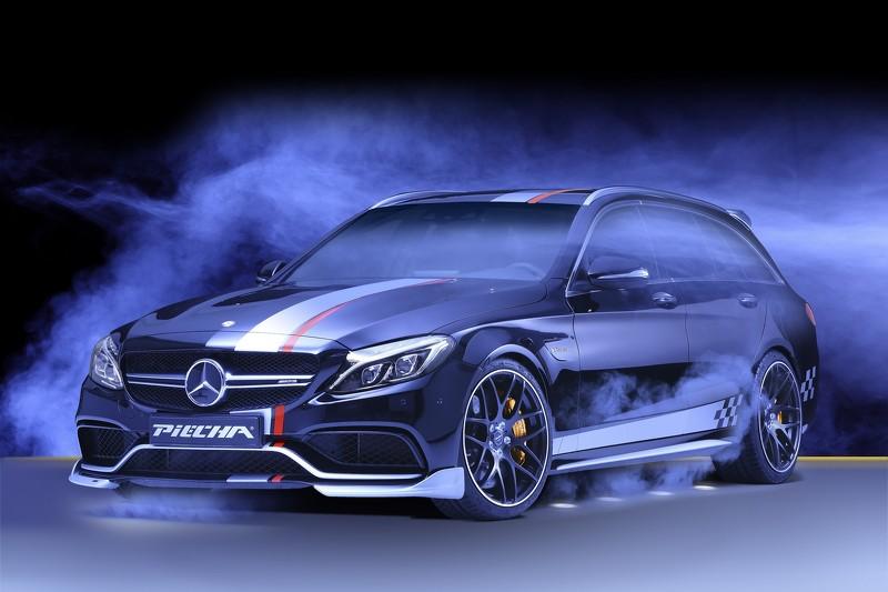 Mercedes-AMG C63 S Estate por Piecha Design: Un rocambolesco familiar de 612 CV