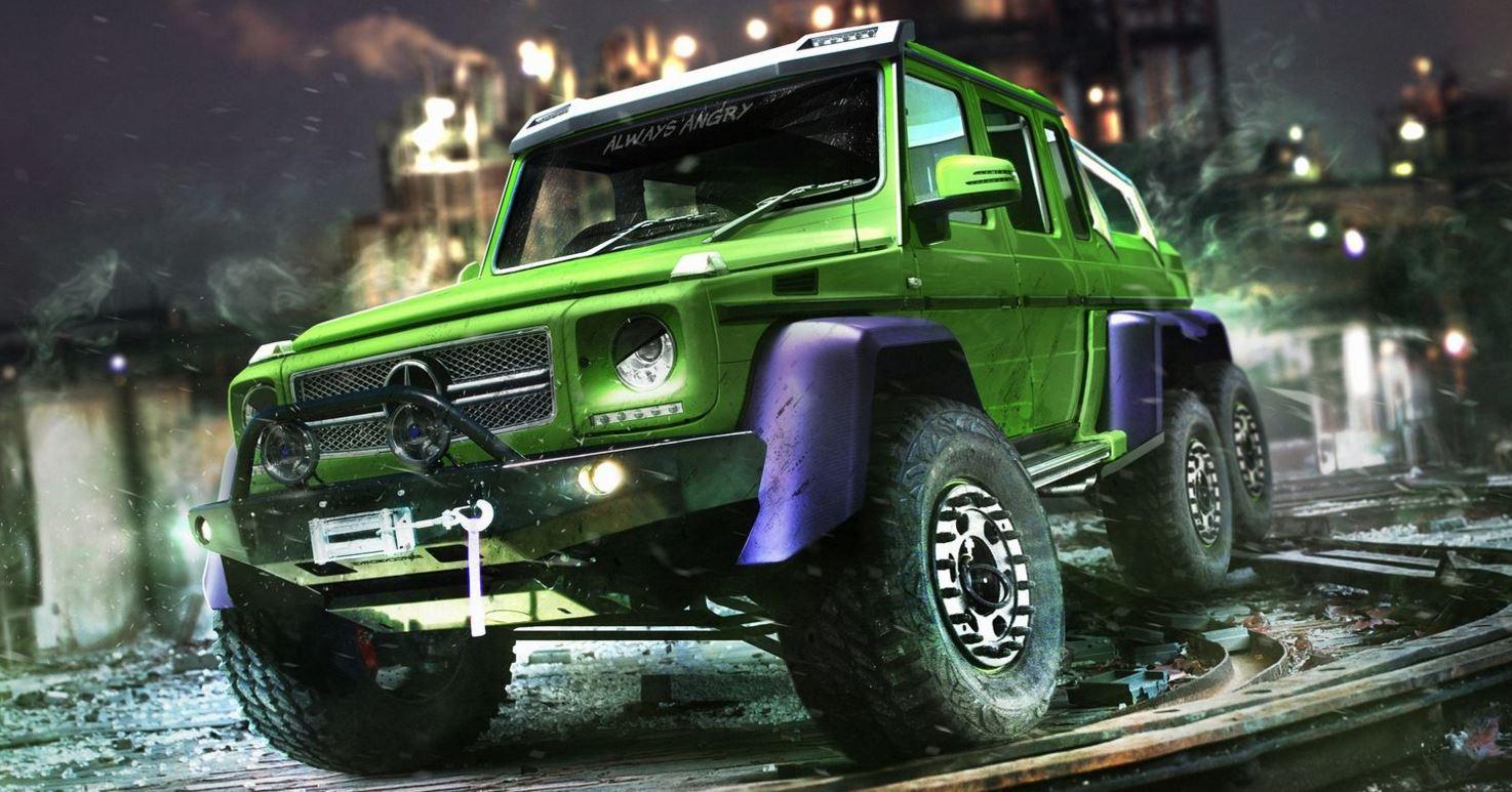 Mercedes-AMG G63 6X6 Hulk