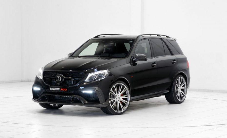 Brabus le mete mano al Mercedes-AMG GLE 63: Dos opciones de potencia para arrasar en las Autobahn