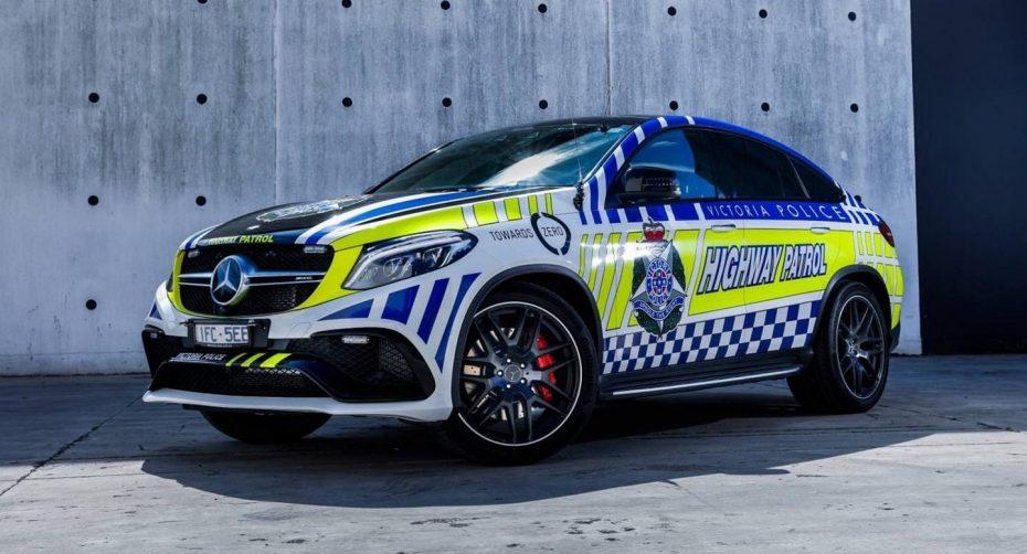 La policía australiana se hace con un Mercedes-AMG GLE 63 S Coupé…¡Para concienciar a la población!