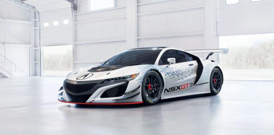 Acura NSX GT3: En fase de pruebas y pendiente de homologación pero con muchas novedades