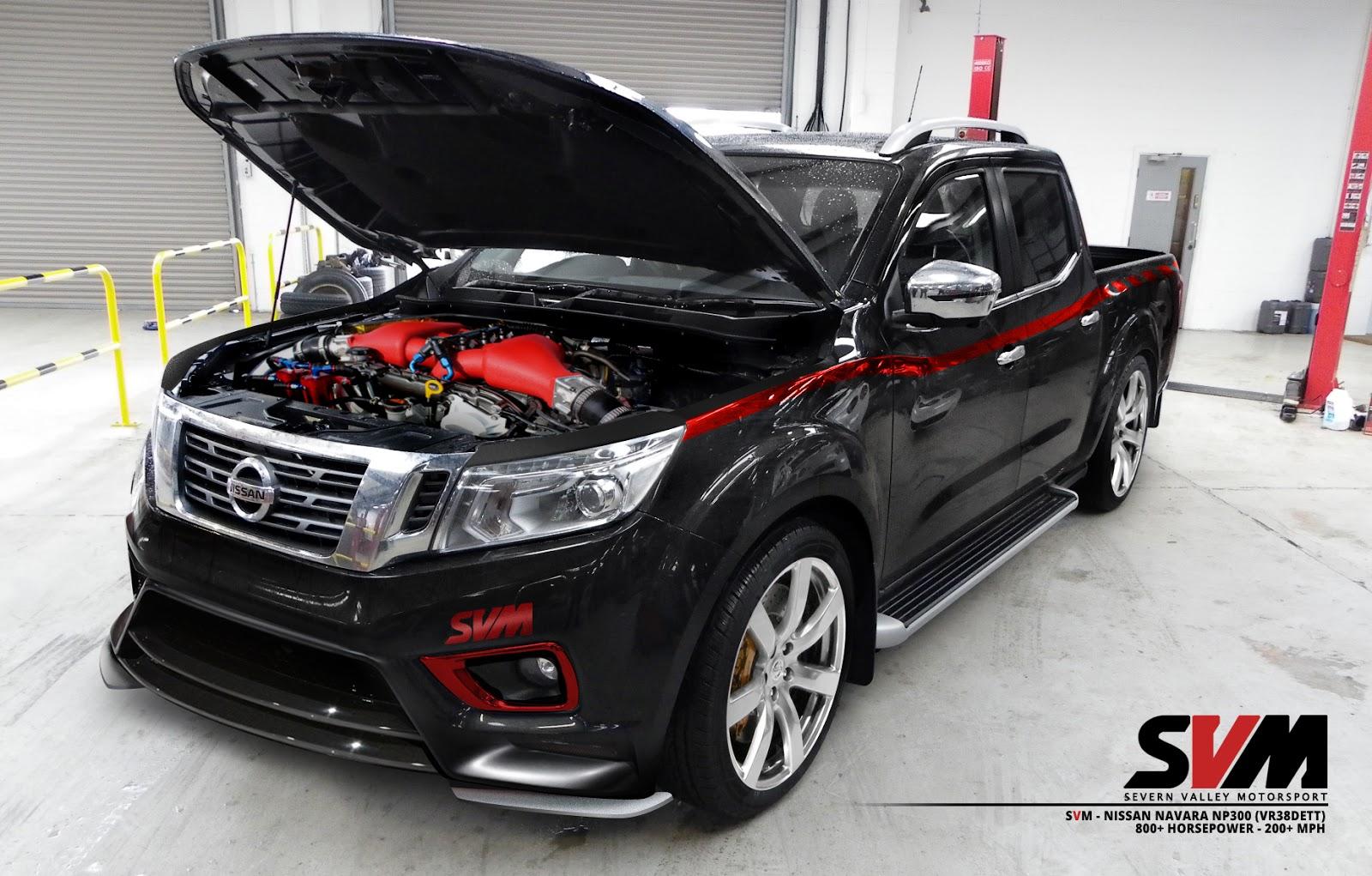 Nissan Navara por SVM