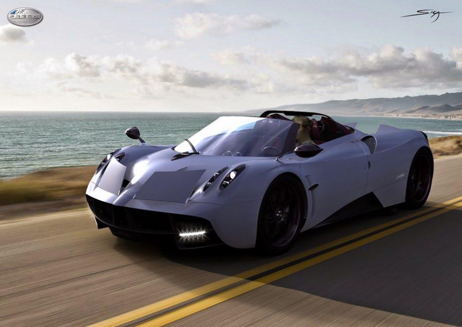 ¡Por fin! El Pagani Huayra Roadster debutará este año en Pebble Beach