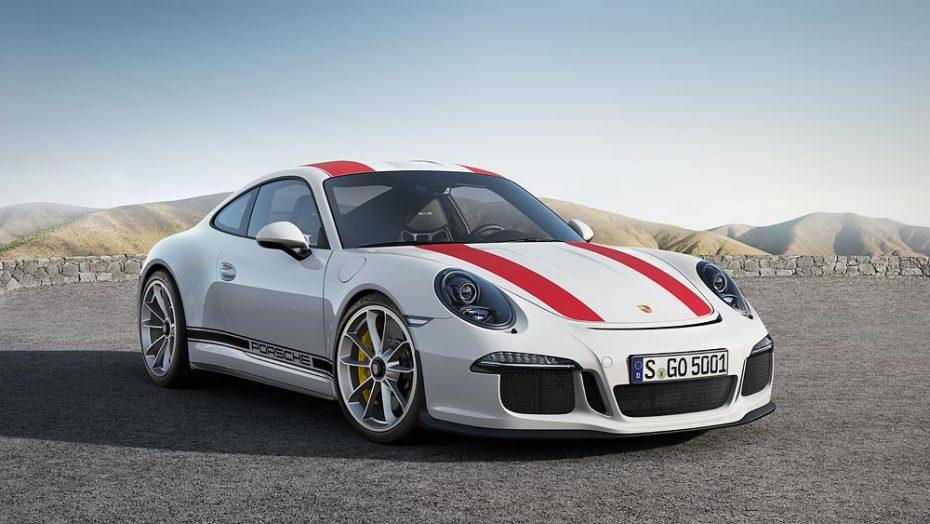 Porsche 911 R: 500 CV y transmisión manual para una auténtica bestia de circuito vestida de calle
