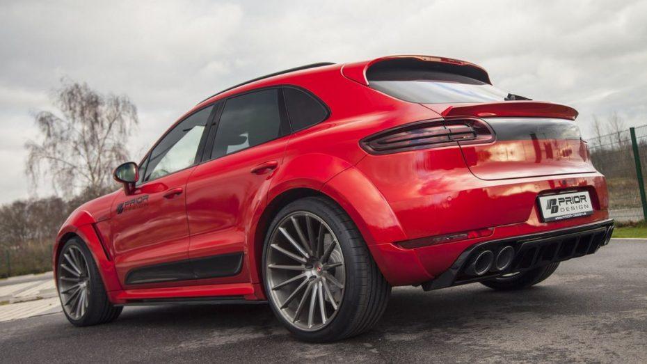 ¿El Porsche Macan te parece discreto? Tranquilo, Prior Design te lo convierte en una auténtica bestia