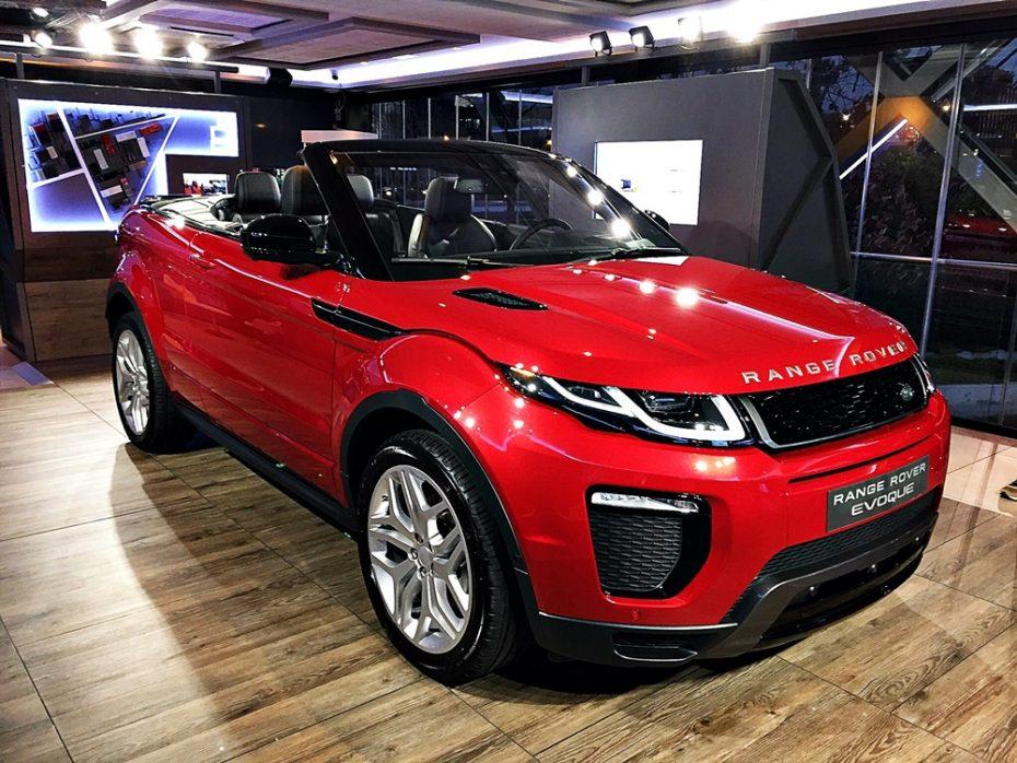 Presentación estática Range Rover Evoque Convertible: Un SUV tan pasional como capaz que te conquistará
