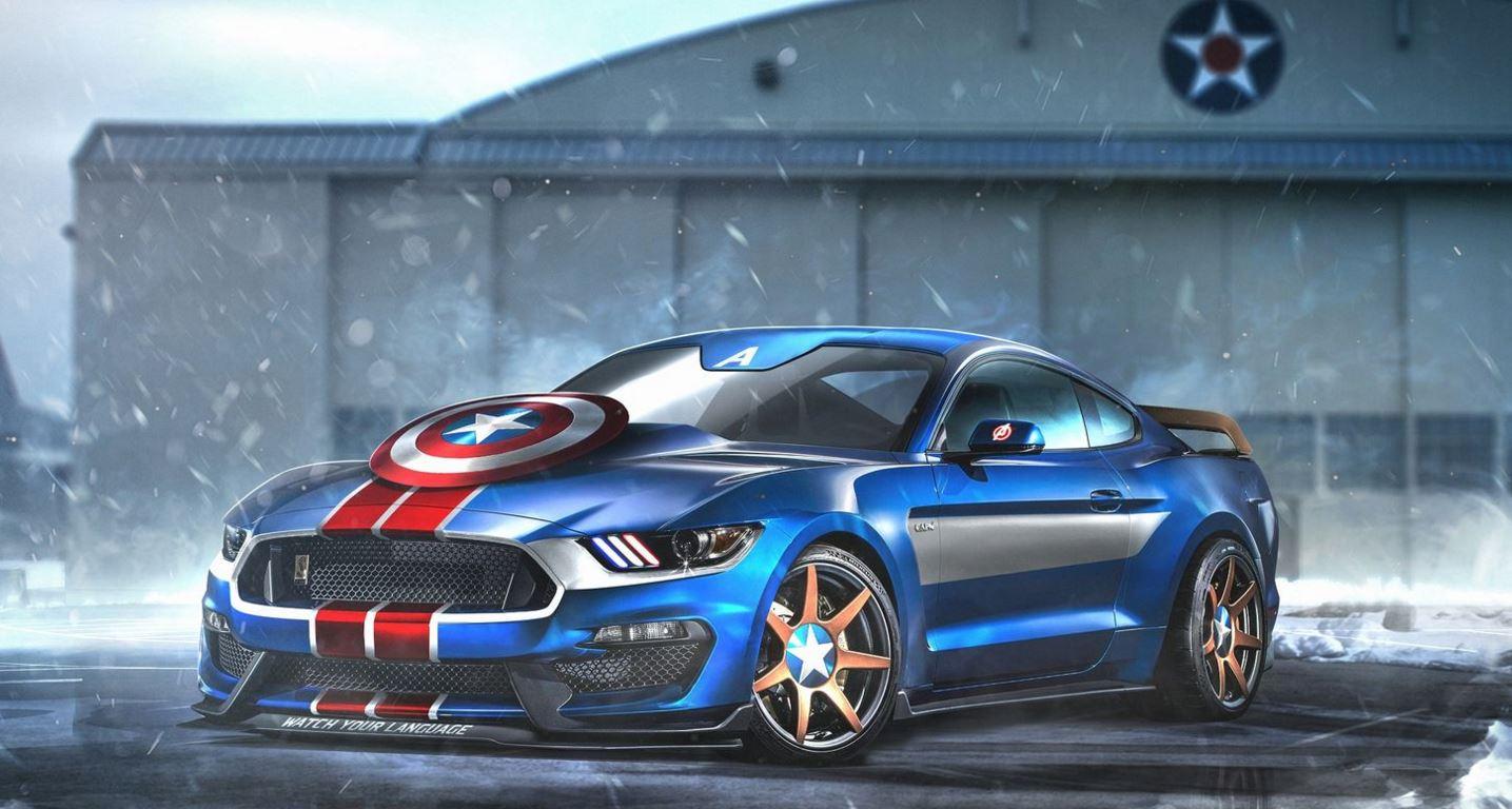 Shelby Mustang GT350R Capitán América