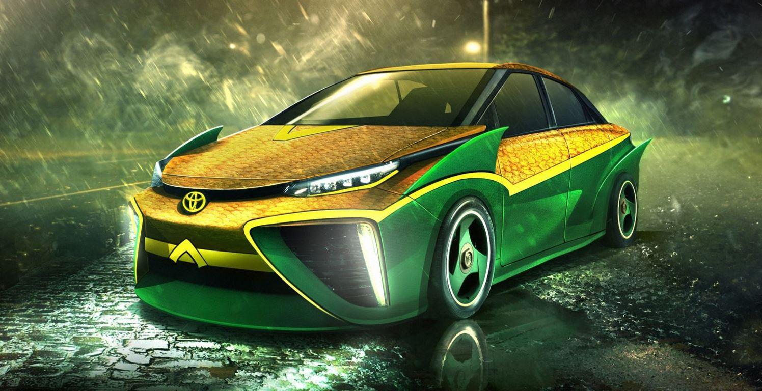 Toyota Mirai Aquaman