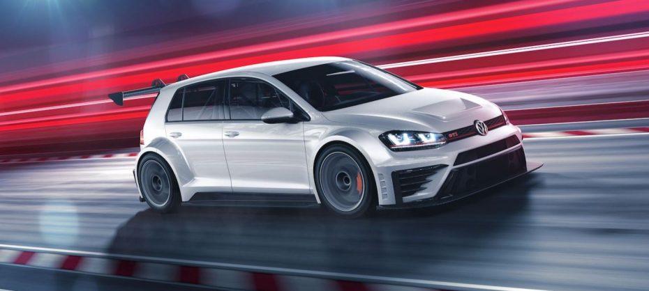 ¡Radical y sólo apto para circuitos! El Volkswagen Golf GTI TCR debuta con 330 CV y un aspecto de infarto