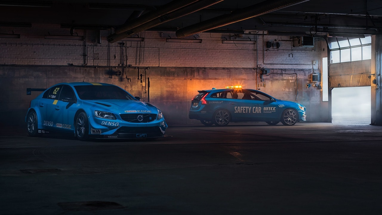 Volvo V60 Polestar Safety Car WTCC (1)