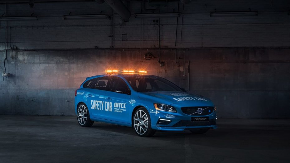 Volvo vuelve con fuerza al WTCC: El Volvo V60 Polestar será la estrella de la seguridad en 2016