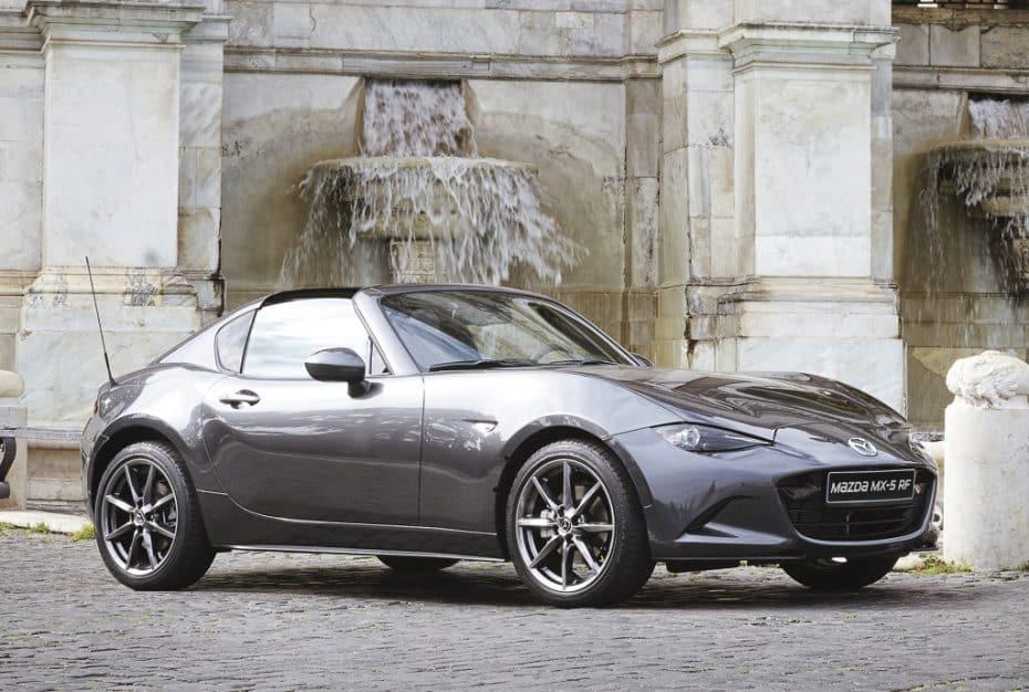 Llega el Mazda MX-5 RF, inicialmente en serie especial y limitada: ¡Corre, sólo hay 50!