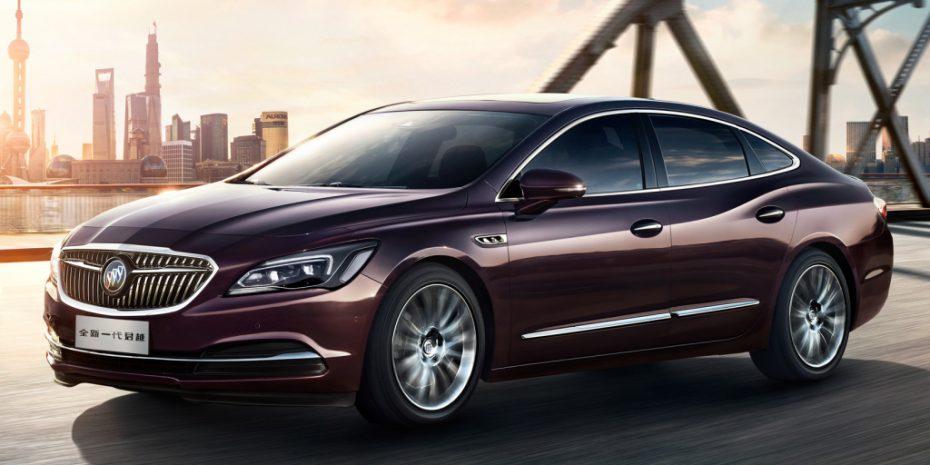 El Buick LaCrosse, a la conquista del usuario chino: Con indiscutible sello Opel