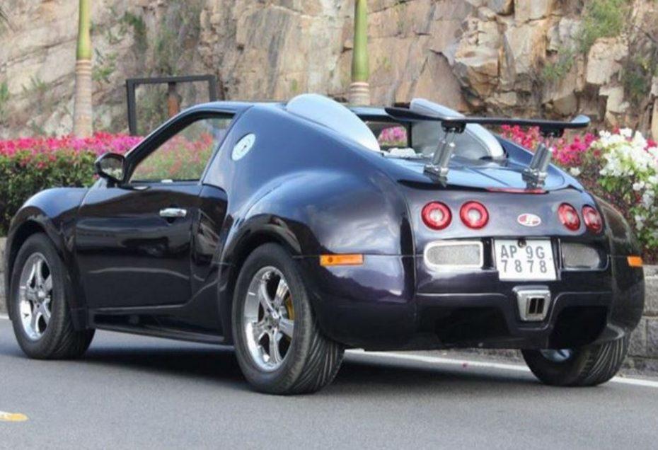 Si pensabas que la réplica del Bugatti Veyron del otro día era penosa, échale un ojo a estas y compara…