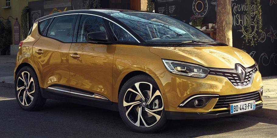 El Renault Scénic llega con llantas de 20 pulgadas de serie en toda la gama