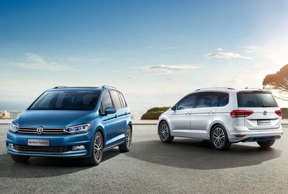 Así es el nuevo Volkswagen Touran L: Inicia su comercialización en China