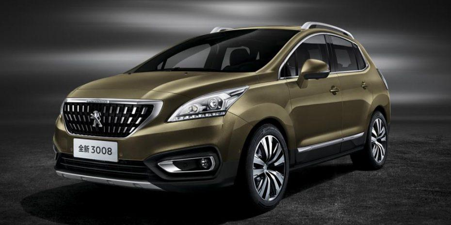 El Peugeot 3008 estrena cara aunque sólo para China