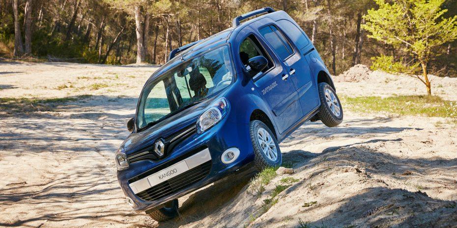 Saluda al nuevo Renault Kangoo X-Track: Con un enfoque más campero