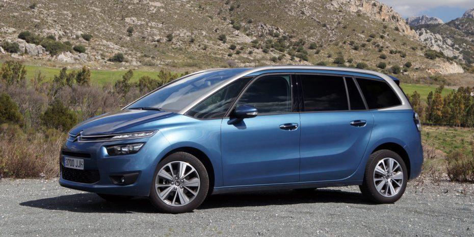 Prueba Citroën Grand C4 Picasso 1.6 BlueHDI 120 CV 6AT Feel Edition: El mejor de su clase