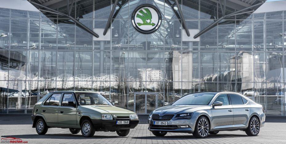 Skoda cumple 25 años junto a Volkswagen: Una alianza de éxito (imágenes)