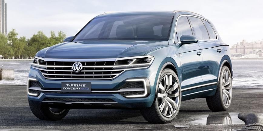 Así es el imponente Volkswagen T-Prime GTE Concept: Anticipo del próximo Touareg