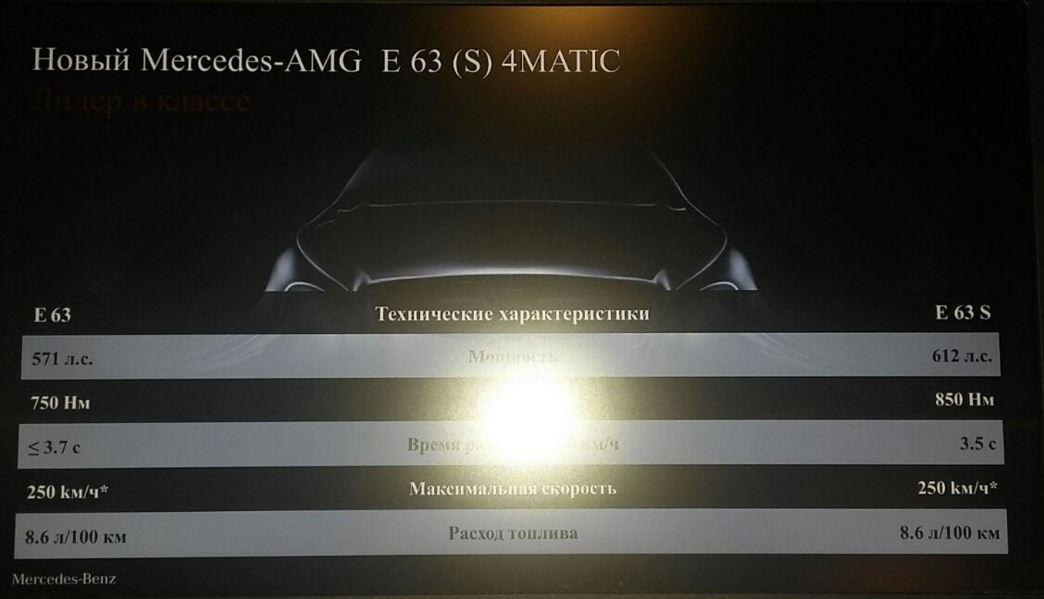 ¡Filtración!: Primeros detalles del esperado E63 AMG 4MATIC, más potente de lo esperado