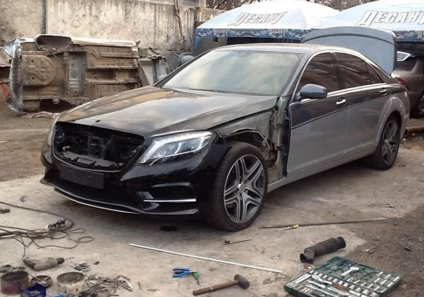 Ahora ya sabemos lo que hacen con algunos de los Mercedes-Benz Clase S robados…