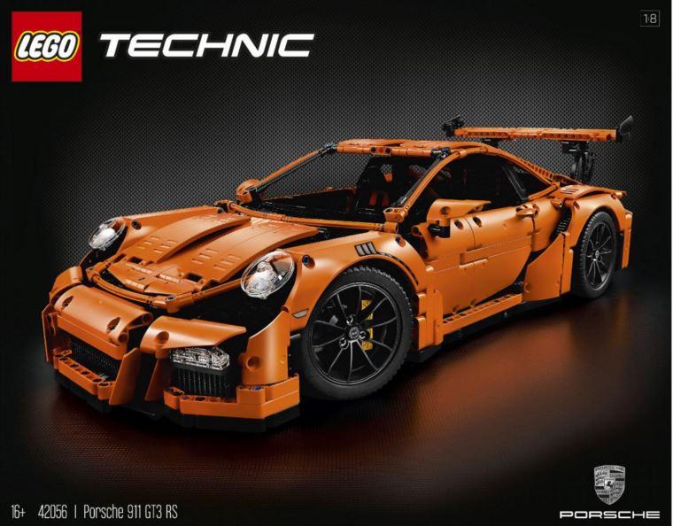 LEGO Technic crea su kit más impresionante, el del Porsche 911 GT3 RS con 2.704 piezas