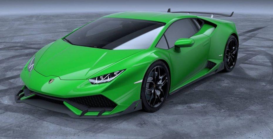 ¿Pagar casi 20.000 euros por un kit de carrocería oficial para el Lamborghini Huracan?