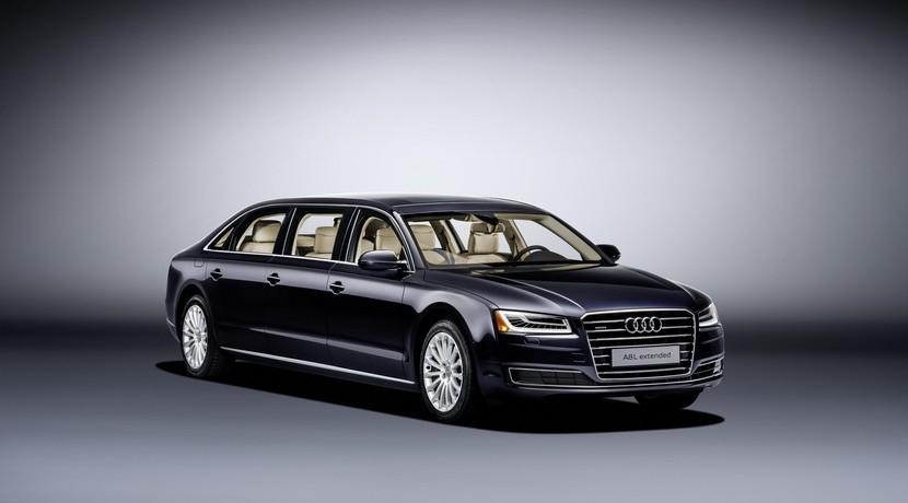 Audi A8 L Extended: Puro lujo y exclusividad en más de 6 metros de longitud