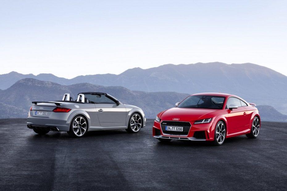 Audi TT RS Coupé y TT RS Roadster: 400 CV para elevar el apellido RS a su máximo exponente