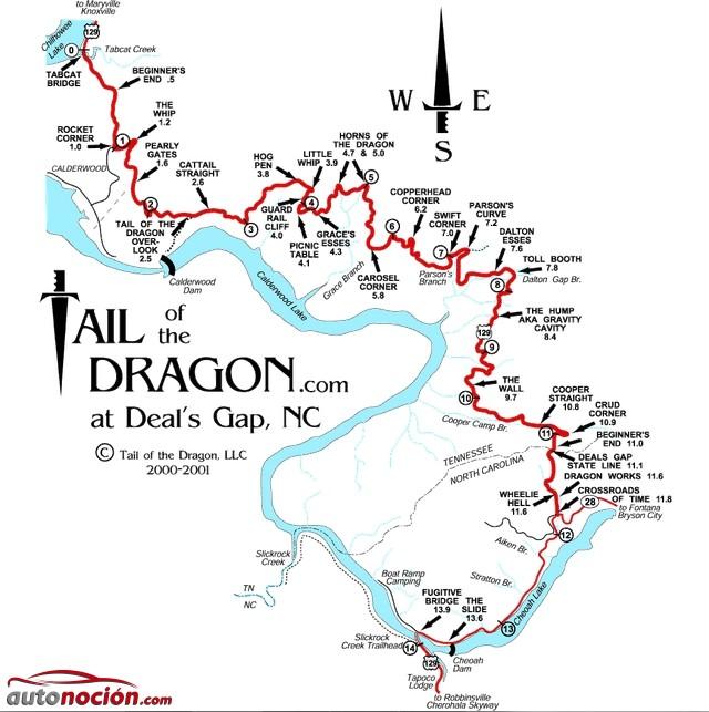 Carretera Cola de Dragón
