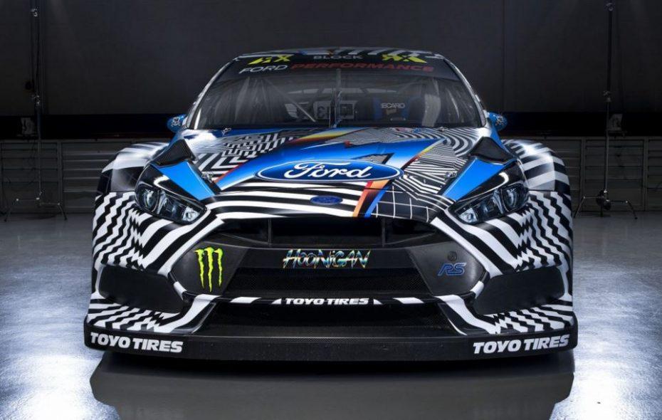 Así de impresionante es el Ford Focus RS RX de HOONIGAN RACING con el que correrá Ken Block