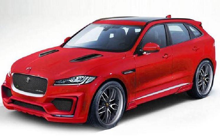 Arden le mete mano al Jaguar F-Pace: El felino, ahora más agresivo