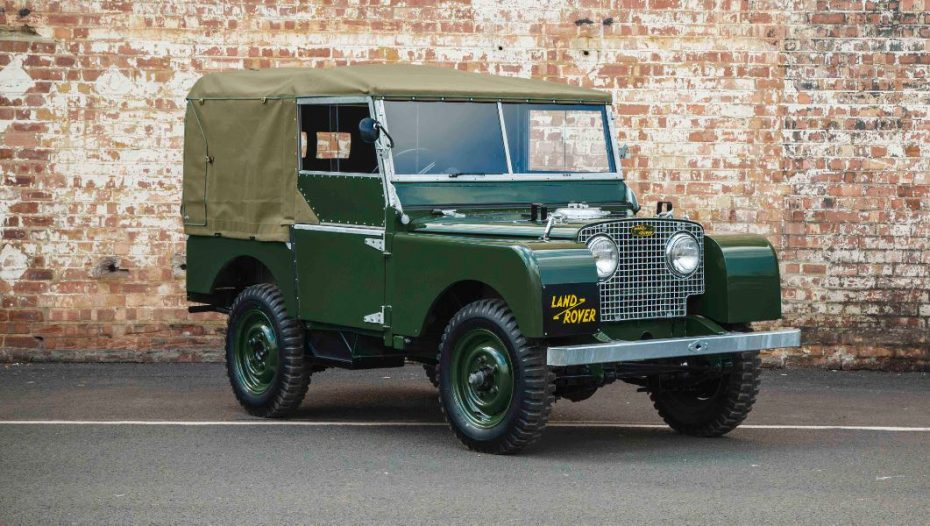 ¡Land Rover venderá 25 unidades del Serie I de 1948 como nuevas!