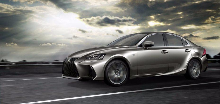 Lexus revela el IS MY 2017: Leves retoques estéticos para refrescar a su berlina estrella