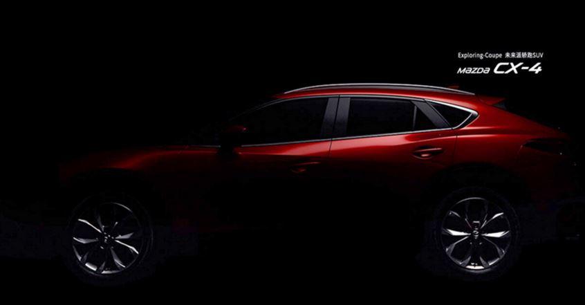 Ya falta poco para conocer al CX-4, el SUV de corte coupé de Mazda: Aquí las primeras imágenes