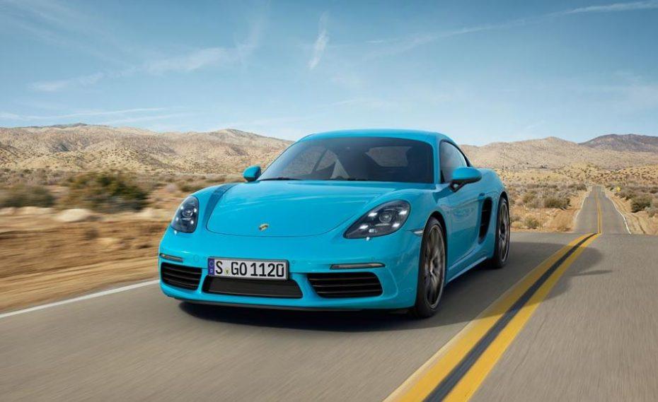 Porsche 718 Cayman: El turbo y los cuatro cilindros llegan acompañados de mejoras