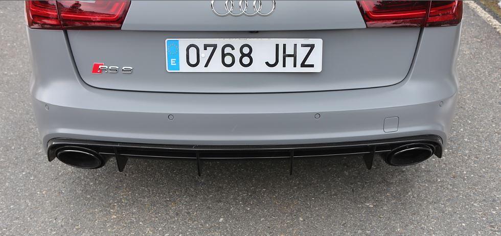 Prueba Audi RS6 13