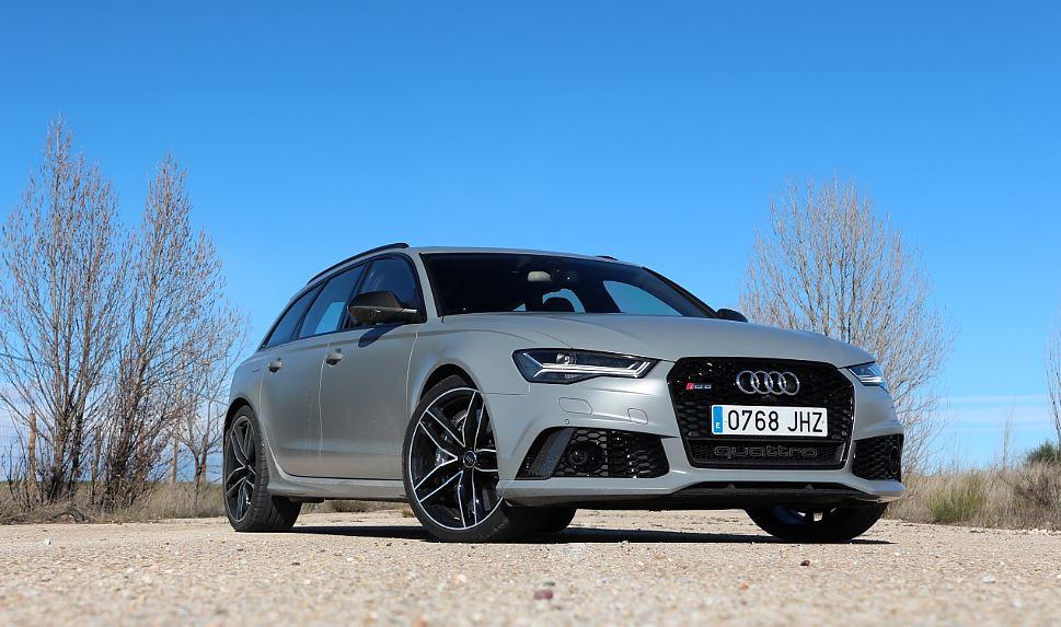 Prueba Audi RS6 55