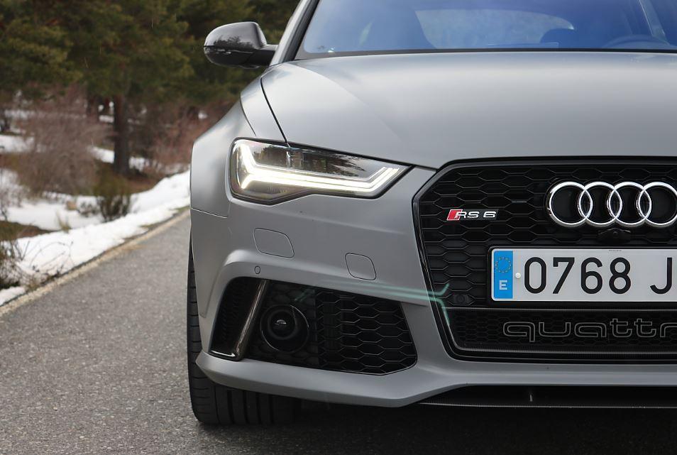 Prueba Audi RS6 8