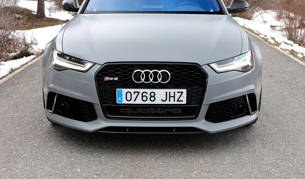 Prueba Audi RS6 9
