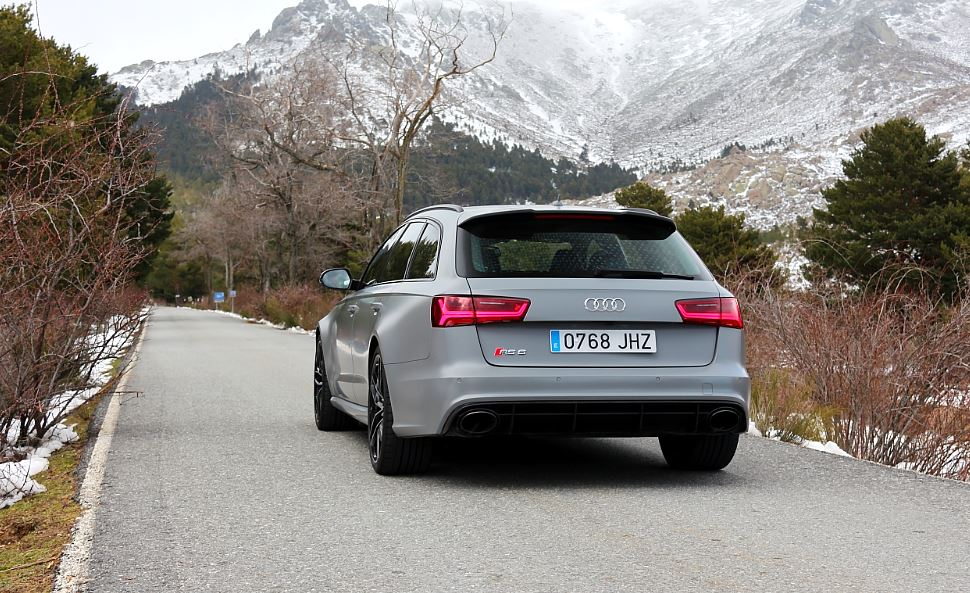 Prueba Audi RS6