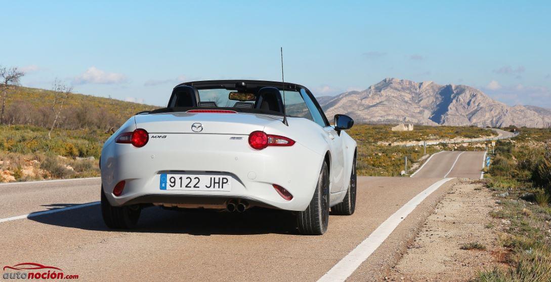 Prueba Mazda MX-5 1.5 SKYACTIV-G 131 CV Luxury: Un roadster que te roba el corazón