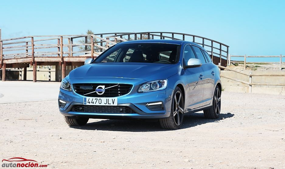 Prueba Volvo V60 R Design 20