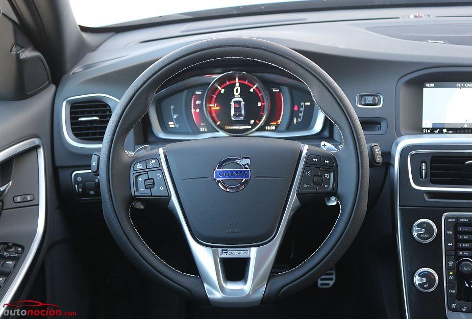 Prueba Volvo V60 interior 2