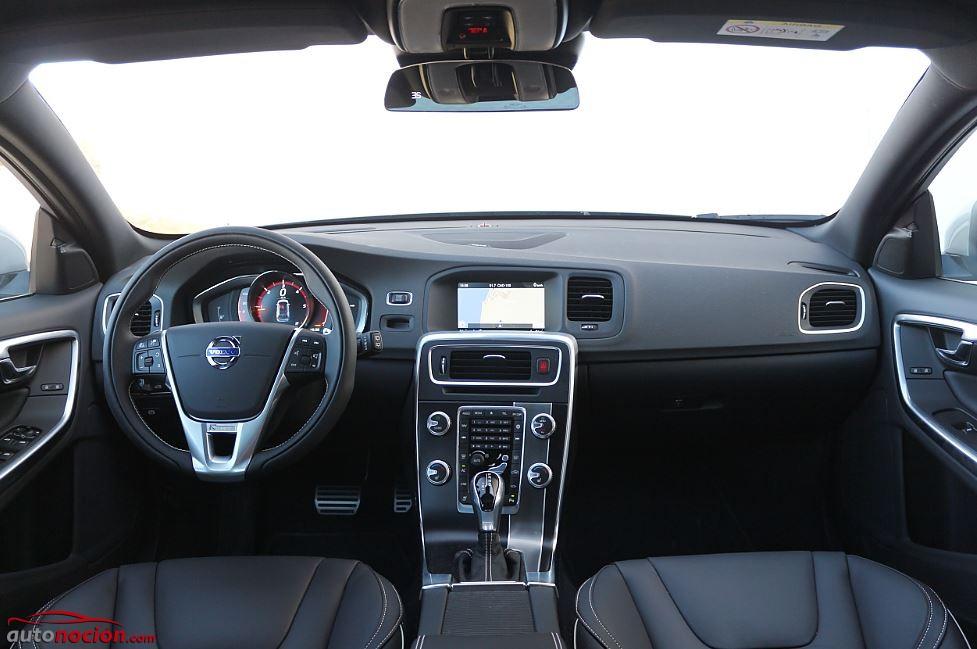 Prueba Volvo V60 interior
