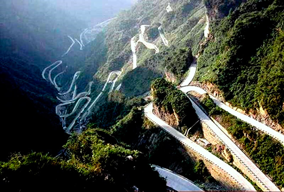Ruta Tian Men Shan (1)