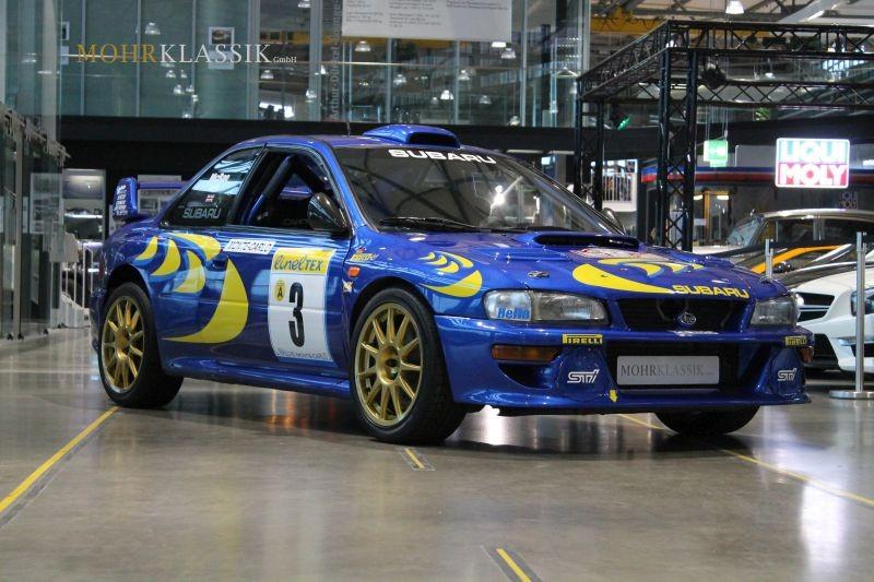 ¿Siempre soñaste con el Subaru Impreza WRC original de Colin McRae? ¡Pues ahora está a la venta!